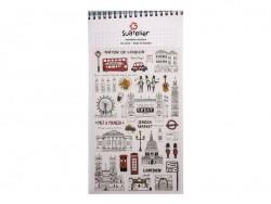 "stickers ""London"""