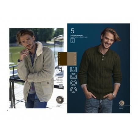 Mini magazine - Phildar no. 600 (in French)