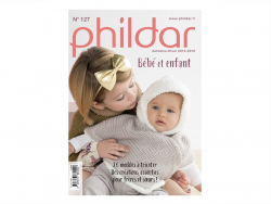 Magazine - baby and children's clothes - Phildar no. 127 (in French)