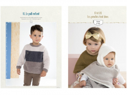 Zeitschrift - Baby-und Kinderkleidung - Phildar Nr. 127 (auf Französisch)