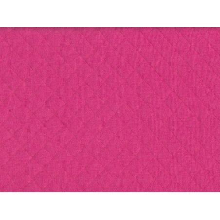 Acheter Tissu jersey matelassé - rose fuchsia - 1,89€ en ligne sur La Petite Epicerie - 100% Loisirs créatifs