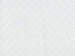 Acheter Tissu jersey matelassé - blanc - 1,89€ en ligne sur La Petite Epicerie - 100% Loisirs créatifs