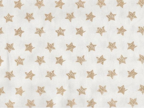 Tissu à étoiles dorées pailletées Rico Design - 1