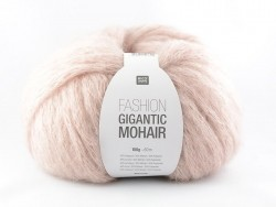"Knitting wool - ""Fashion Gigantic Mohair"" - powder"