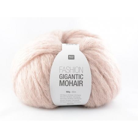 """Laine à tricoter """"Fashion Gigantic Mohair"""" - poudre"""