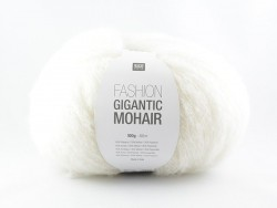 "Knitting wool - ""Fashion Gigantic Mohair"" - cream"
