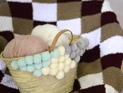 "Knitting wool - ""Fashion Gigantic Mohair"" - cream"