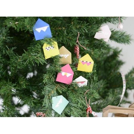 Acheter 10 mini enveloppes et cartes - kraft - 5,30€ en ligne sur La Petite Epicerie - Loisirs créatifs