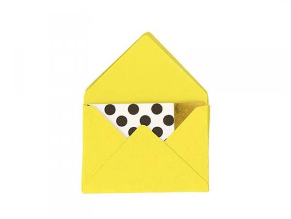 Acheter 10 mini enveloppes et cartes - vert clair - 5,30€ en ligne sur La Petite Epicerie - Loisirs créatifs