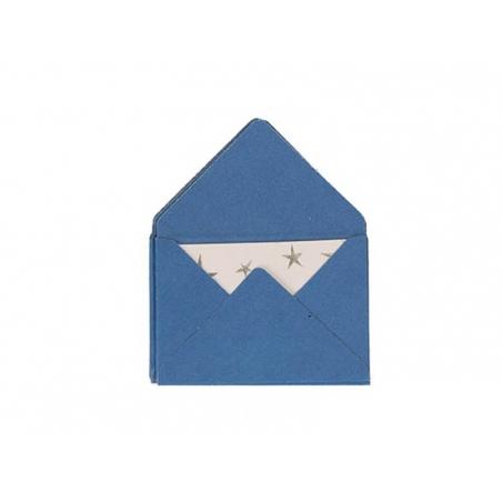 Acheter 10 mini enveloppes et cartes - bleu - 5,30€ en ligne sur La Petite Epicerie - Loisirs créatifs