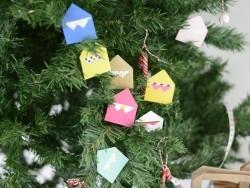 10 mini envelopes and cards - fuchsia