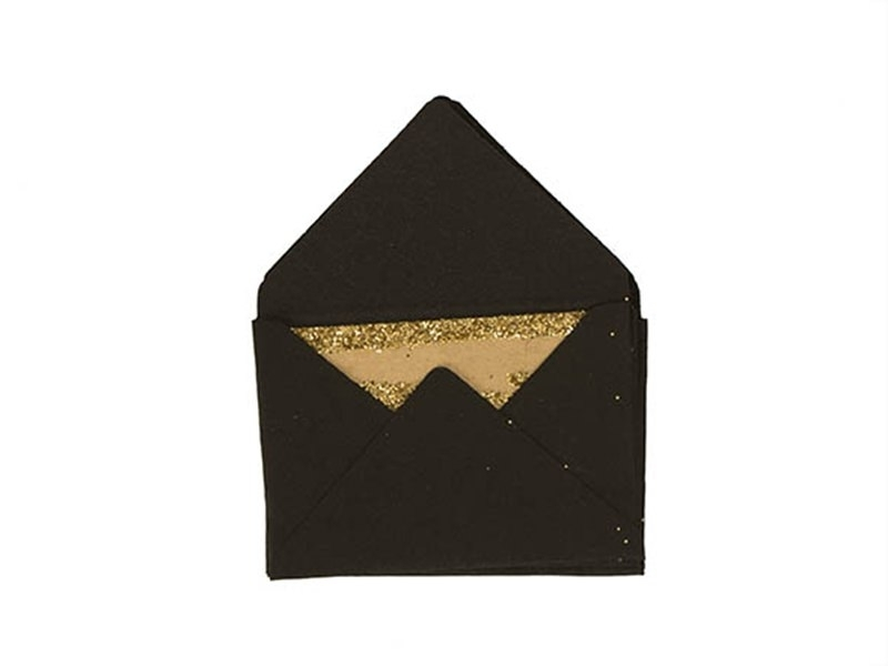 Acheter 10 mini enveloppes et cartes - noir - 5,30€ en ligne sur La Petite Epicerie - 100% Loisirs créatifs