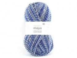 "Knitting wool - ""Superba Maya"" - blue"