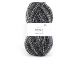 "Knitting wool - ""Superba Maya"" - anthracite"