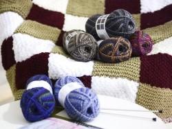 "Laine à tricoter ""Superba Maya"" - anthracite"