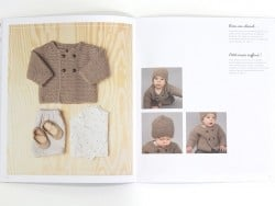 Knitting catalogue for baby clothes - Rico Baby (in French)