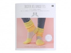 "French book "" ""Tricoter des chaussettes"""