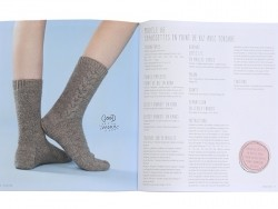 """French book """" """"Tricoter des chaussettes"""""""