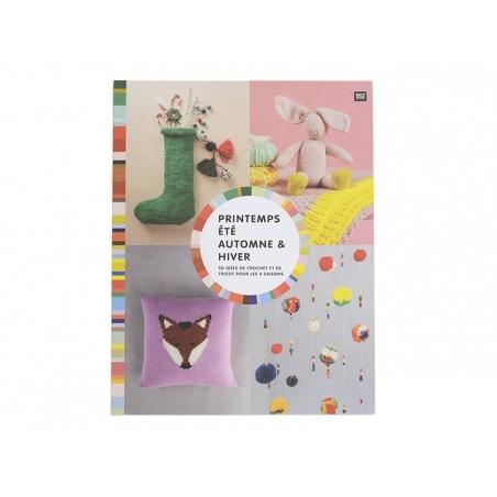 """Acheter Livre """"Printemps, été, automne & hiver - 50 idées de crochet et de tricot pour les 4 saisons"""" - 11,42€ en ligne sur ..."""
