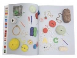"""Buch - """"Printemps, été, automne & hiver - 50 idées de crochet et de tricot pour les 4 saisons"""" (auf Französisch)"""