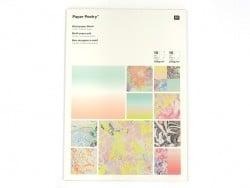 Acheter Bloc de papier à motif - marbré - 9,50€ en ligne sur La Petite Epicerie - Loisirs créatifs