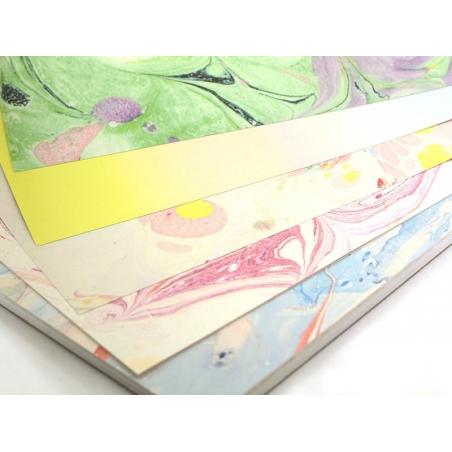 Acheter Bloc de papier à motif - marbré - 9,50€ en ligne sur La Petite Epicerie - 100% Loisirs créatifs