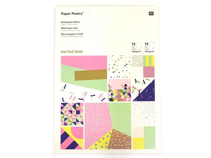 Acheter Bloc de papier à motif - confetti - 9,50€ en ligne sur La Petite Epicerie - 100% Loisirs créatifs