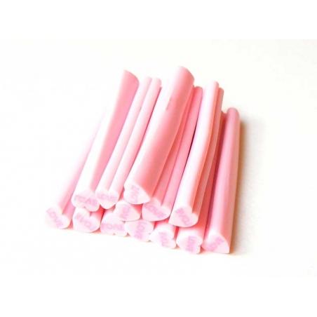 "Heart cane - pink ""Love"""