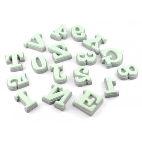 Tampons en mousse - alphabet Helvetica