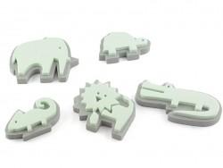 Foam rubber stamps - zoo