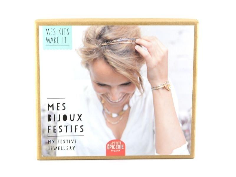 Acheter Kit MKMI - Ma parure chic - DIY - 16,99€ en ligne sur La Petite Epicerie - Loisirs créatifs