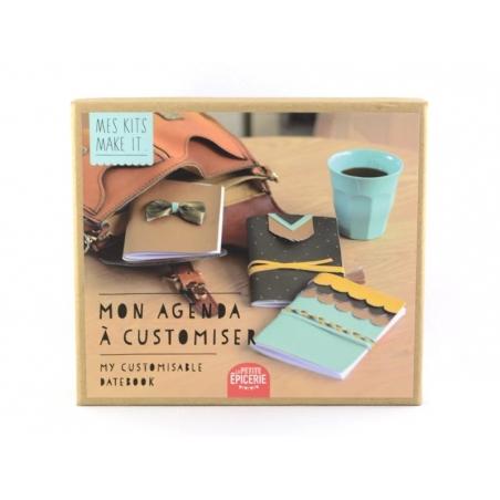Acheter Kit MKMI - Mon agenda à customiser - DIY - 16,99€ en ligne sur La Petite Epicerie - Loisirs créatifs