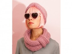 Kit de tricot débutant - Snood et headband