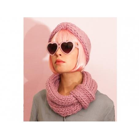 Kit de tricot débutant - Snood et headband We are knitters - 2