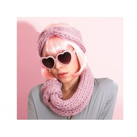 Kit de tricot débutant - Snood et headband We are knitters - 4