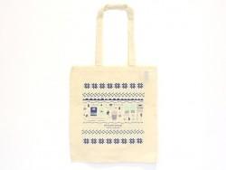 Tote bag - sac en coton La Petite Epicerie - Hiver