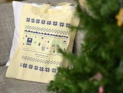 Tote bag - cotton bag by La Petite Épicerie - Winter