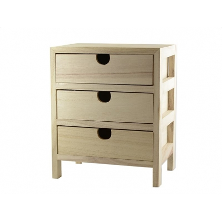 Acheter Petit meuble à tiroirs - 18,90€ en ligne sur La Petite Epicerie - 100% Loisirs créatifs