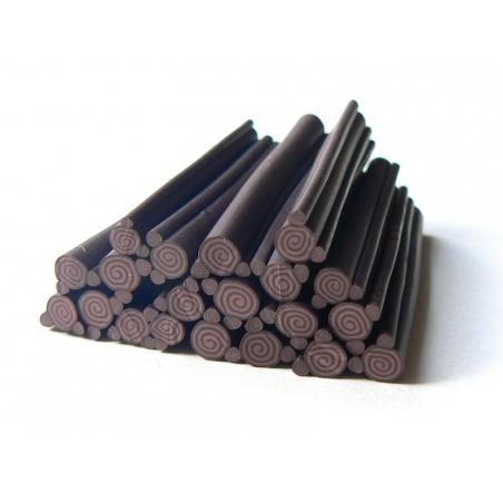 Acheter Cane gâteau roulé choco en pâte fimo - 0,99€ en ligne sur La Petite Epicerie - Loisirs créatifs