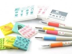 Acheter Gouge à graver pour tampons - rose - 5,60€ en ligne sur La Petite Epicerie - 100% Loisirs créatifs