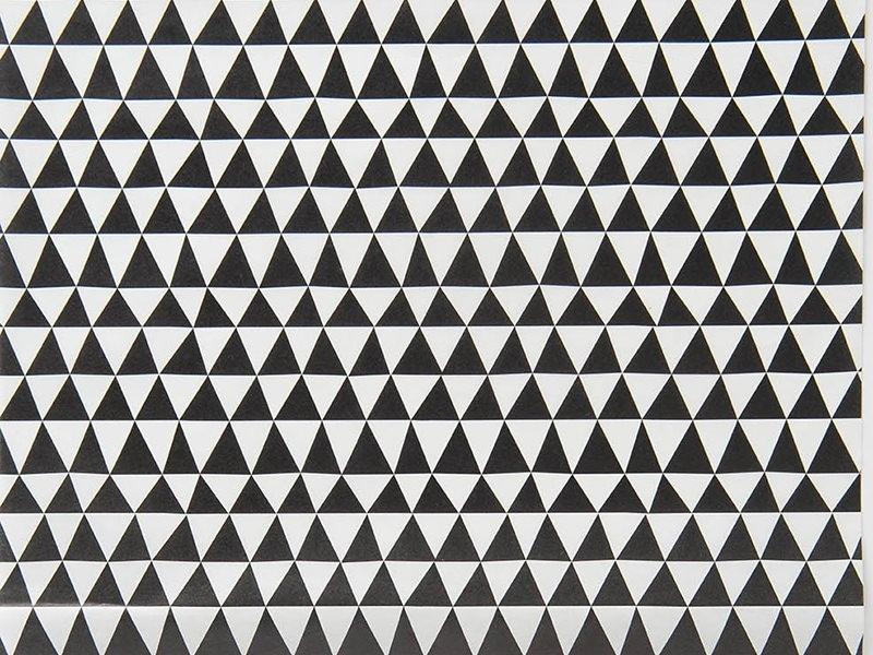 Paper patch - black triangles