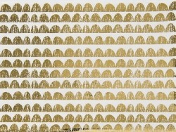 Paper patch - golden festoons