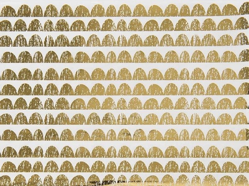 Paper patch - golden festoons