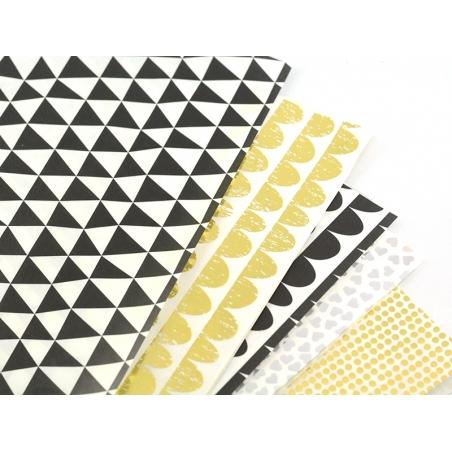 Paper patch - golden dots