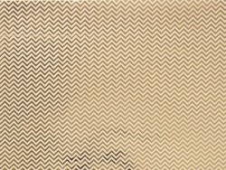 Paper patch - golden zigzag pattern