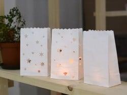 5 sachets de papier photophore - uni