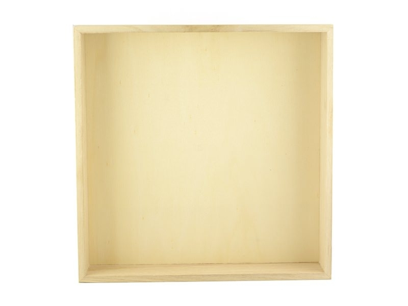 Big wooden tray