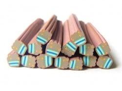 Acheter Cane cupcake à pois et rayures - 0,99€ en ligne sur La Petite Epicerie - 100% Loisirs créatifs