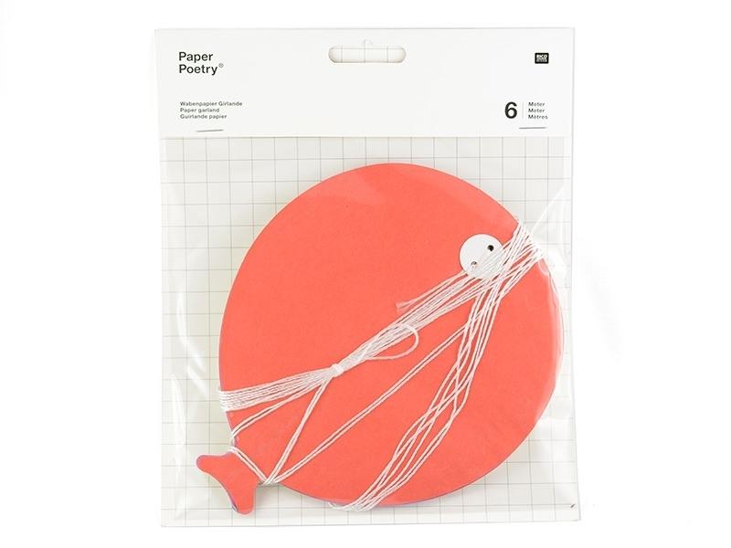 Guirlande papier - ballons multicolores Rico Design - 1