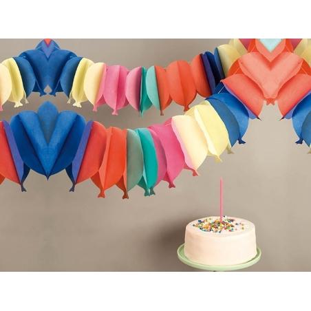 Guirlande papier - ballons multicolores Rico Design - 2